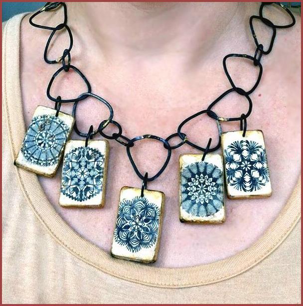 Alisa Lahti's rustic necklace, 2012