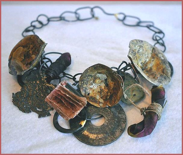 Jane Wherry's rustic necklace, 2012