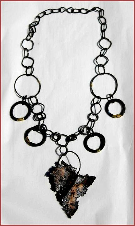 Wendy Polidori's rustic necklace, 2012