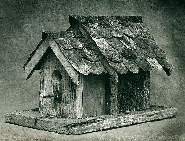 birdhouse, 1990s, Larry Calkins