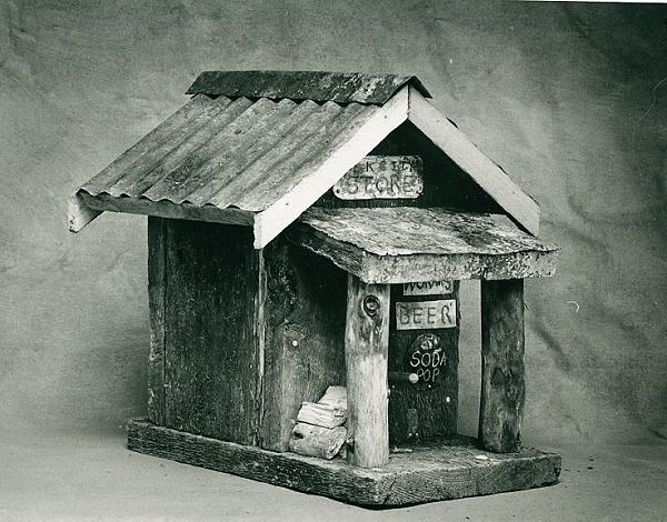 birdhouse, 1990s, Larry Calkins